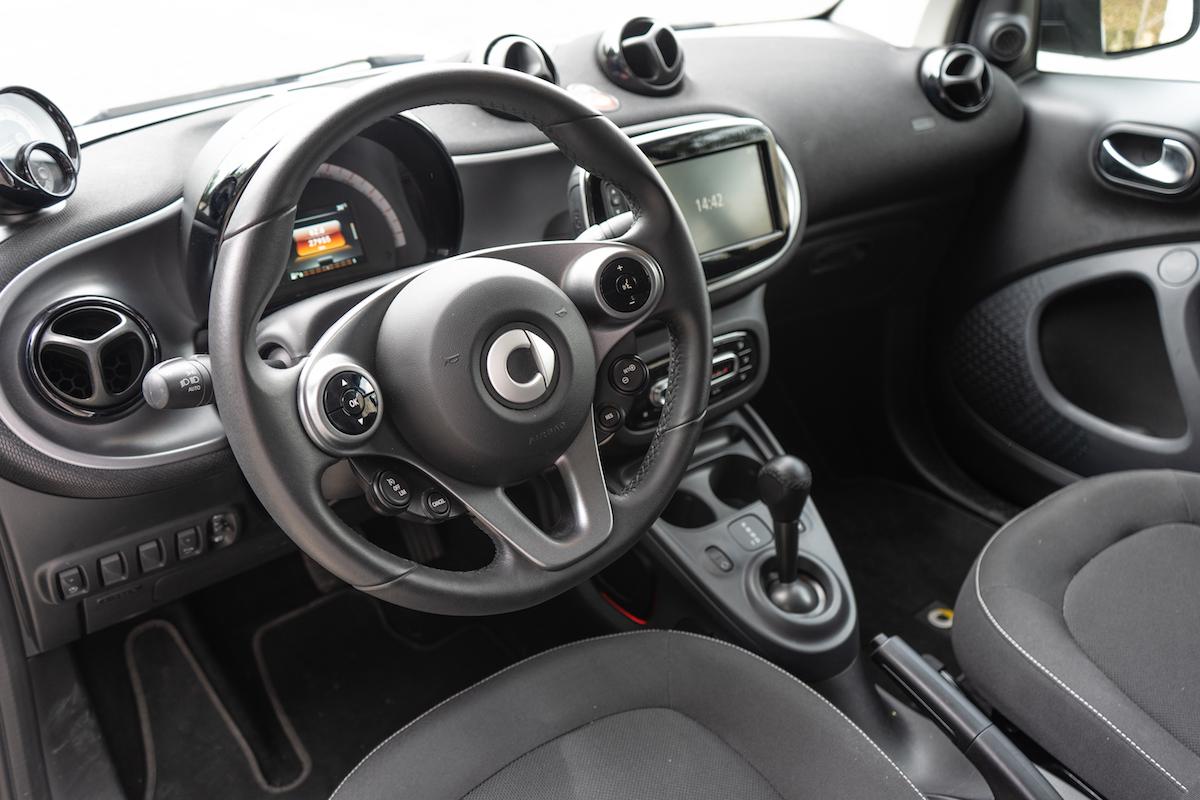 Smart Cabrio Interni