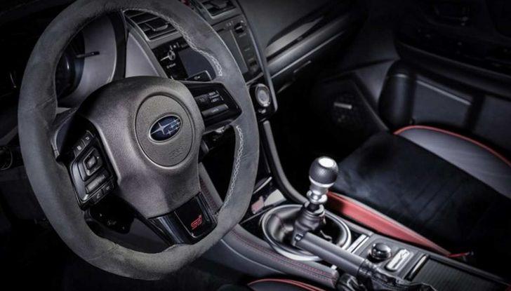 Subaru WRX STI Legendary Edition, versione speciale da 55 esemplari - Foto 10 di 10