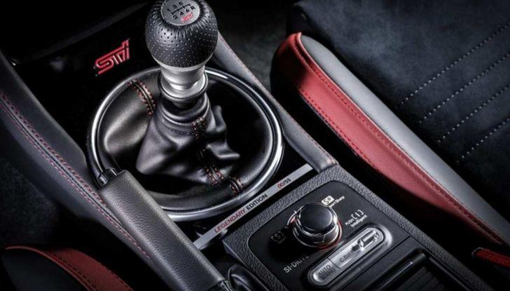 Subaru WRX STI Legendary Edition, versione speciale da 55 esemplari - Foto 6 di 10