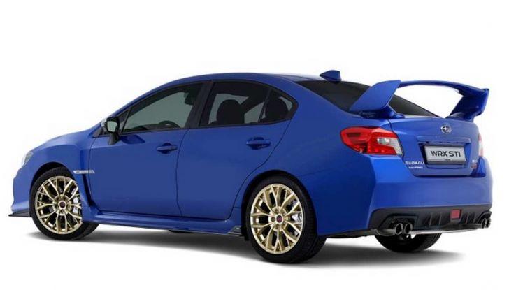 Subaru WRX STI Legendary Edition, versione speciale da 55 esemplari - Foto 2 di 10