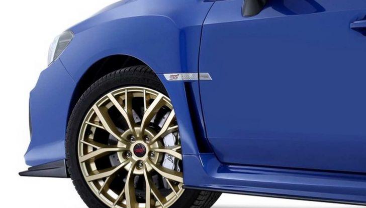 Subaru WRX STI Legendary Edition, versione speciale da 55 esemplari - Foto 4 di 10