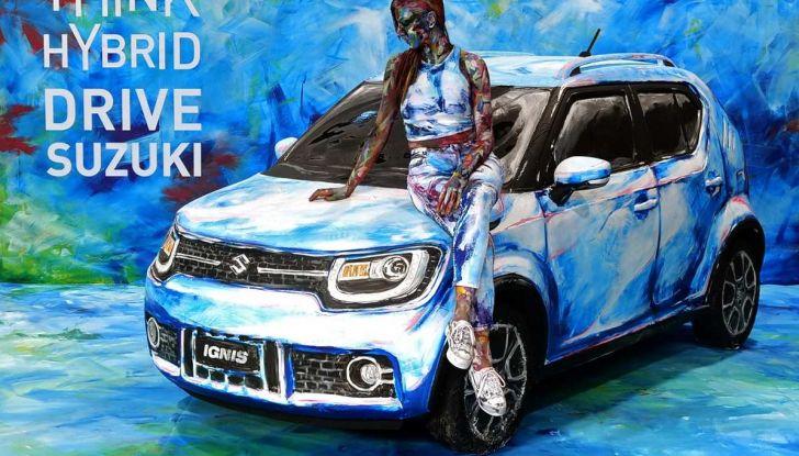 Suzuki Ignis Hybrid Art al Parco Valentino 2018 - Foto 2 di 6