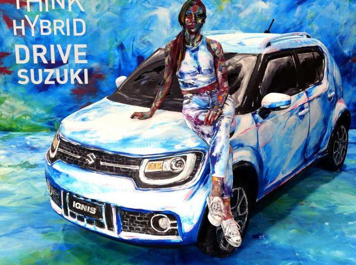 Suzuki Ignis Hybrid Art al Parco Valentino 2018 - Foto 4 di 6