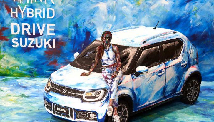 Suzuki Ignis Hybrid Art al Parco Valentino 2018 - Foto 5 di 6