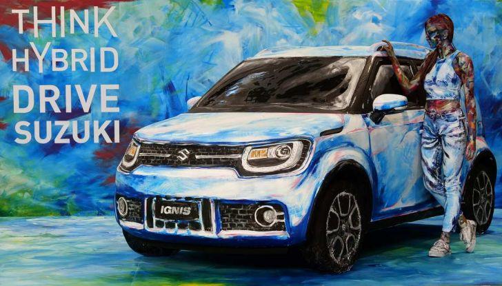 Suzuki Ignis Hybrid Art al Parco Valentino 2018 - Foto 6 di 6