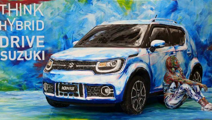 Suzuki Ignis Hybrid Art al Parco Valentino 2018 - Foto 1 di 6