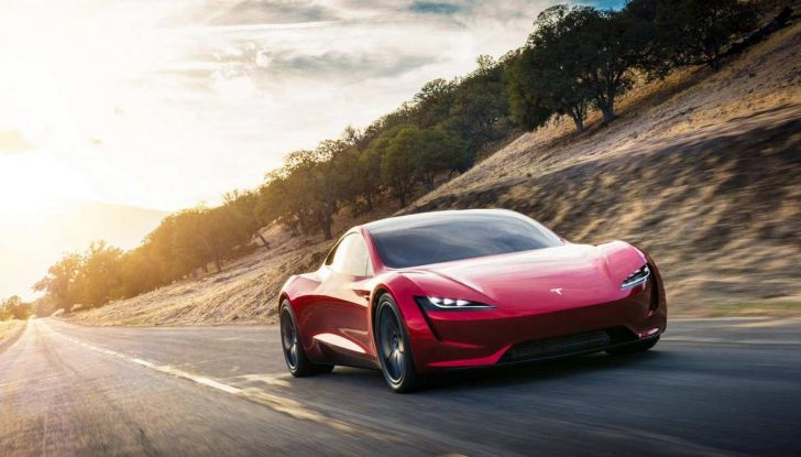Tesla Roadster 2020 con speciale allestimento SpaceX Package - Foto 5 di 13