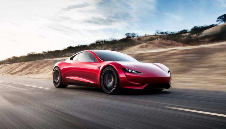Tesla Roadster 2020 con speciale allestimento SpaceX Package - Foto 1 di 13