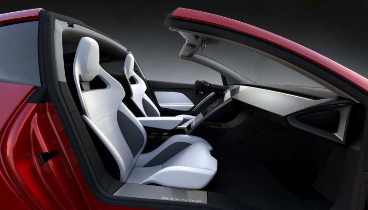 Tesla Roadster: una versione SpaceX con razzi posteriori! - Foto 4 di 13