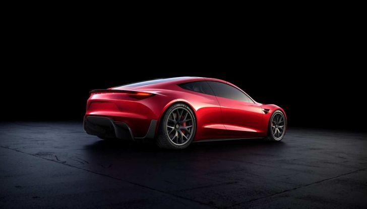 Tesla Roadster: una versione SpaceX con razzi posteriori! - Foto 6 di 13