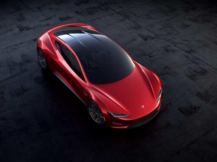 Tesla Roadster 2020 con speciale allestimento SpaceX Package - Foto 9 di 10