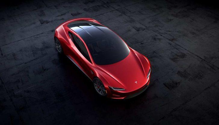 Tesla Roadster 2020 con speciale allestimento SpaceX Package - Foto 9 di 13