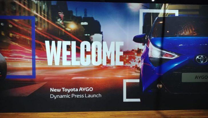 Nuova Toyota Aygo 2018, il lifting di mezza età - Foto 5 di 25