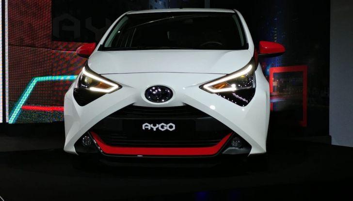 Nuova Toyota Aygo 2018, il lifting di mezza età - Foto 4 di 25