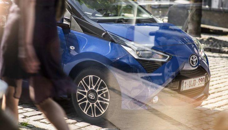 Nuova Toyota Aygo 2018, il lifting di mezza età - Foto 11 di 25