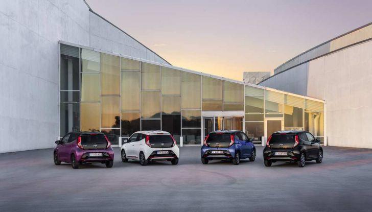 Nuova Toyota Aygo 2018, il lifting di mezza età - Foto 7 di 25