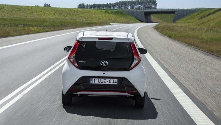 Nuova Toyota Aygo 2018, il lifting di mezza età - Foto 24 di 25