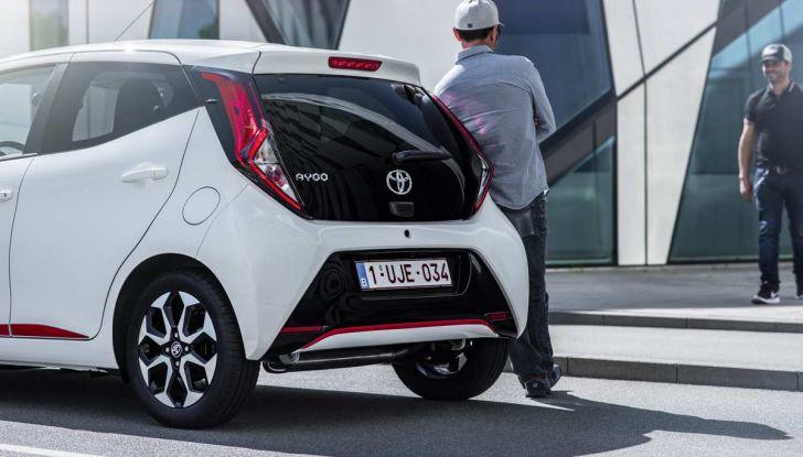 Nuova Toyota Aygo 2018, il lifting di mezza età - Foto 16 di 25