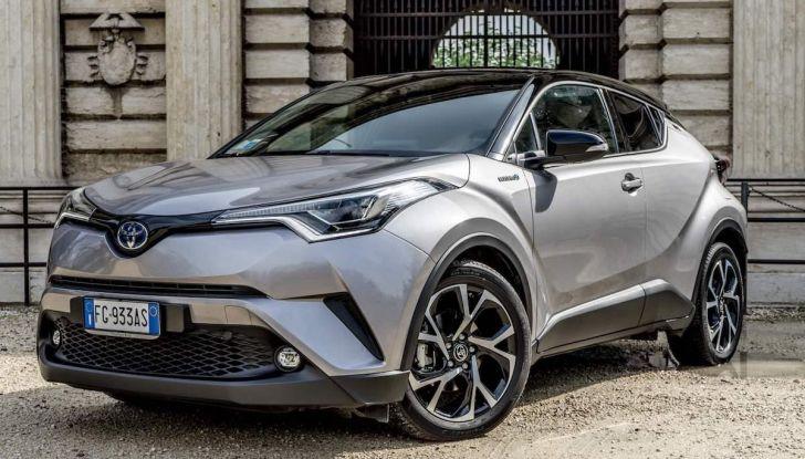 [VIDEO] Toyota C-HR 2018, La nostra prova dell'Hybrid SUV da 26Km/l - Foto 3 di 36