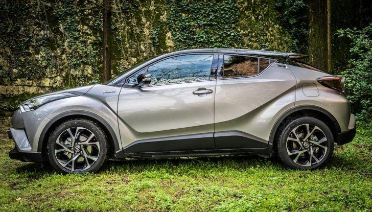 [VIDEO] Toyota C-HR 2018, La nostra prova dell'Hybrid SUV da 26Km/l - Foto 13 di 36