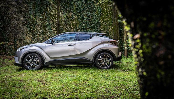 [VIDEO] Toyota C-HR 2018, La nostra prova dell'Hybrid SUV da 26Km/l - Foto 14 di 36
