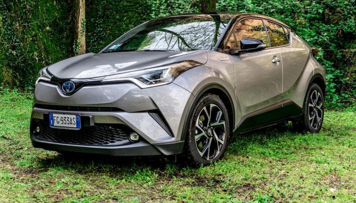 [VIDEO] Toyota C-HR 2018, La nostra prova dell'Hybrid SUV da 26Km/l - Foto 17 di 36