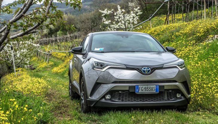 [VIDEO] Toyota C-HR 2018, La nostra prova dell'Hybrid SUV da 26Km/l - Foto 34 di 36