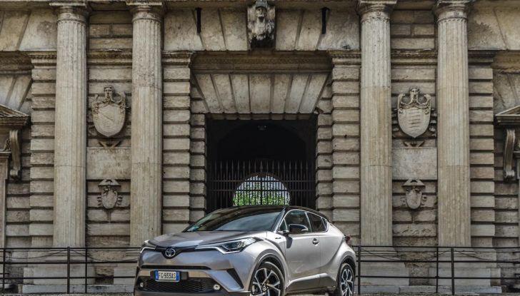 [VIDEO] Toyota C-HR 2018, La nostra prova dell'Hybrid SUV da 26Km/l - Foto 7 di 36