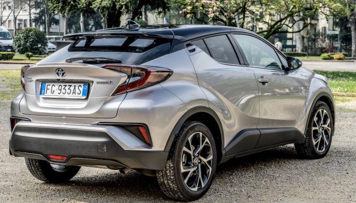 [VIDEO] Toyota C-HR 2018, La nostra prova dell'Hybrid SUV da 26Km/l - Foto 10 di 36