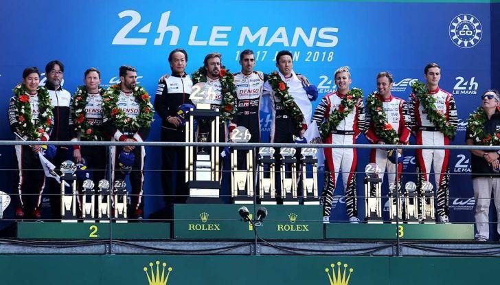 Toyota e Alonso trionfano alla 24 Ore di Le Mans 2018 - Foto 2 di 8