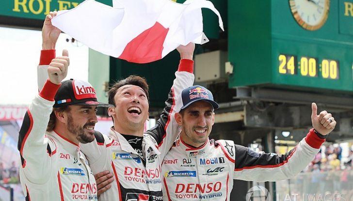 Toyota e Alonso trionfano alla 24 Ore di Le Mans 2018 - Foto 1 di 8