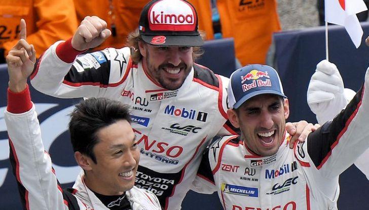 Toyota e Alonso trionfano alla 24 Ore di Le Mans 2018 - Foto 6 di 8