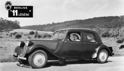 1934: André Citroën lancia la produzione in serie della Traction Avant