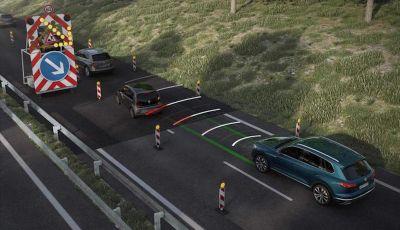 Come funziona la guida semi-autonoma della nuova Volkswagen Touareg 2018