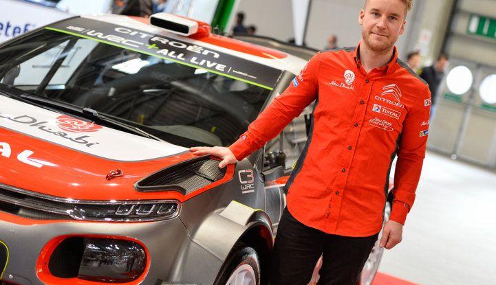 WRC Sardegna 2018: il ricordo di Mads Ostberg con Citroën nel 2014 - Foto  di