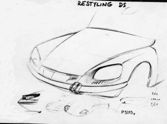 Il nuovo frontale di DS 19