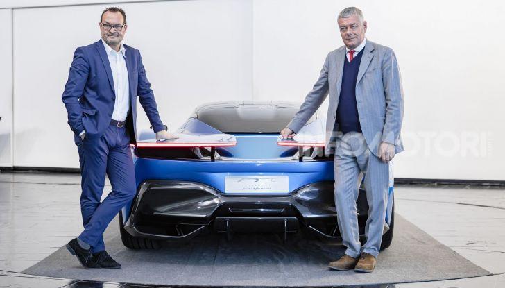 Automobili Pininfarina PF0 debutta nel 2020 la supercar elettrica - Foto 4 di 11