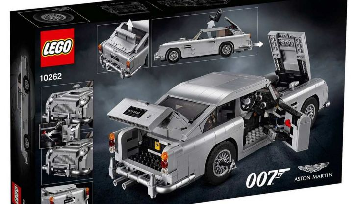Aston Martin DB5 di James Bond diventa un set LEGO - Foto 11 di 15