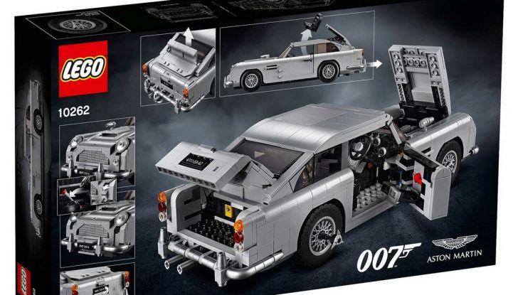 Aston Martin DB5 di James Bond diventa un set LEGO - Foto 11 di 15