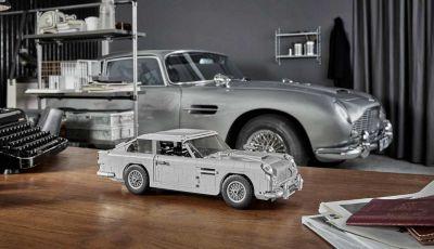 Aston Martin DB5 di James Bond diventa un set LEGO