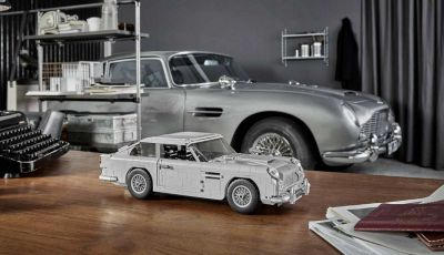 Aston Martin DB5 di James Bond diventa un set LEGO