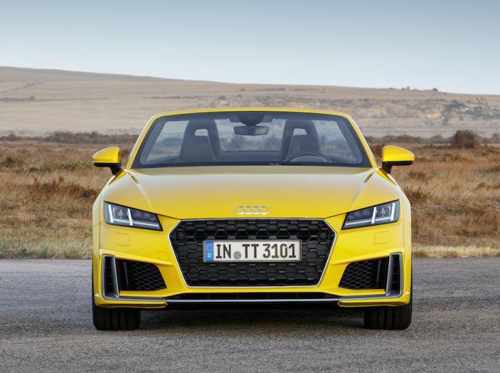 Nuova Audi TT 2018, il restyling per celebrare i 20 anni di produzione - Foto 13 di 34