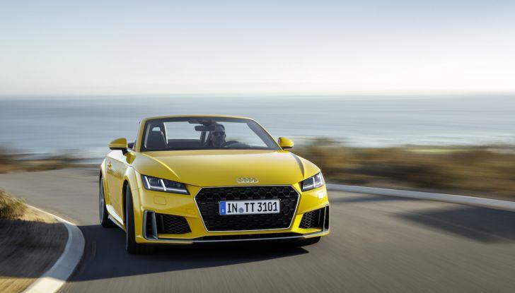 Nuova Audi TT 2018, il restyling per celebrare i 20 anni di produzione - Foto 16 di 34