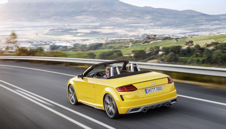 Nuova Audi TT 2018, il restyling per celebrare i 20 anni di produzione - Foto 17 di 34