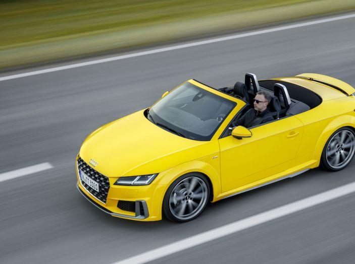 Nuova Audi TT 2018, il restyling per celebrare i 20 anni di produzione - Foto 18 di 34
