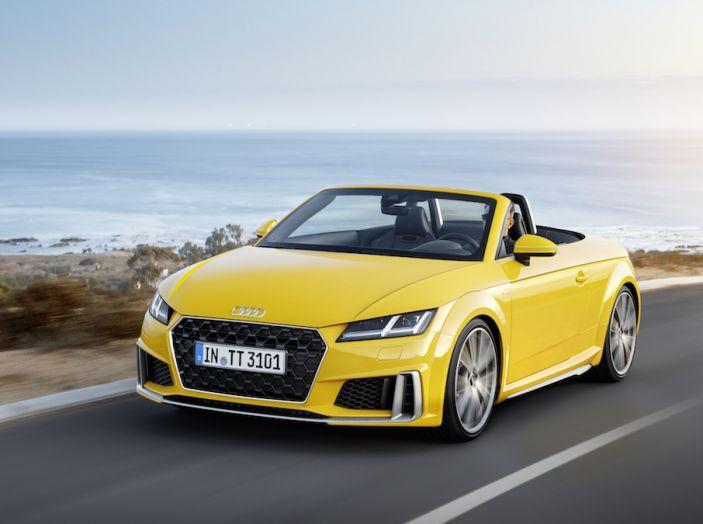 Nuova Audi TT 2018, il restyling per celebrare i 20 anni di produzione - Foto 19 di 34