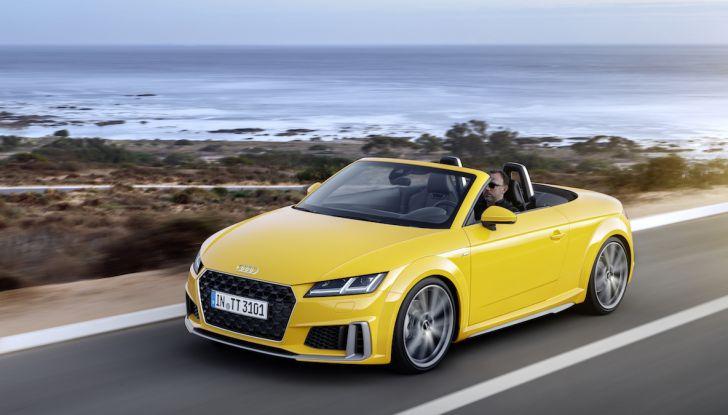 Nuova Audi TT 2018, il restyling per celebrare i 20 anni di produzione - Foto 20 di 34