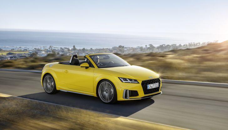 Nuova Audi TT 2018, il restyling per celebrare i 20 anni di produzione - Foto 21 di 34