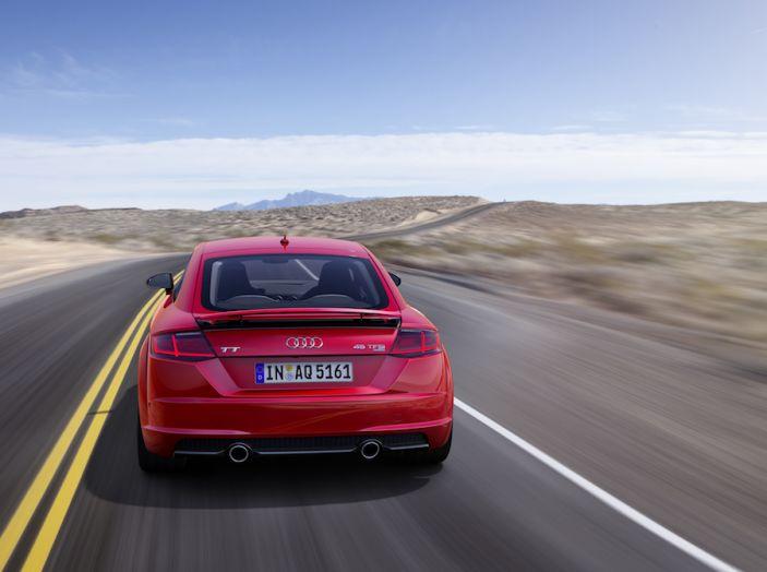 Nuova Audi TT 2018, il restyling per celebrare i 20 anni di produzione - Foto 24 di 34