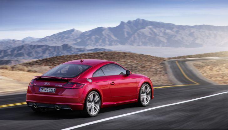 Nuova Audi TT 2018, il restyling per celebrare i 20 anni di produzione - Foto 25 di 34